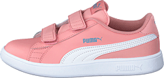 Puma Smash V2 Sd Ps Bridal Rose- White-faded Denim