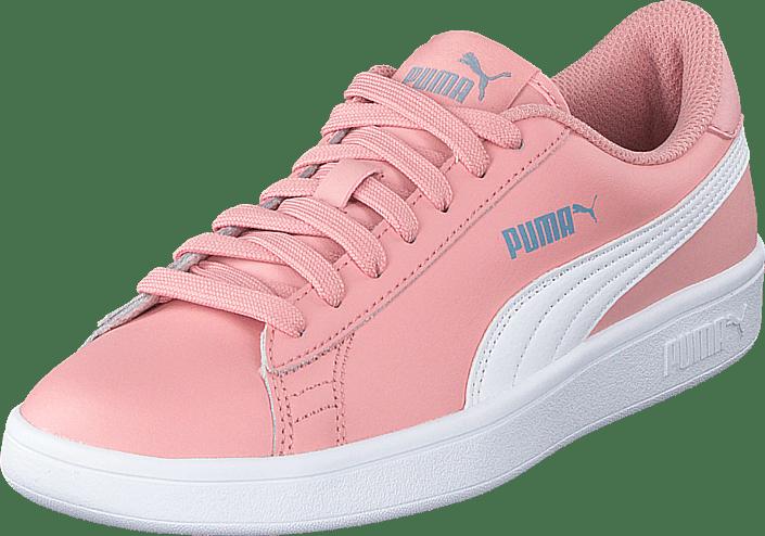 Puma Smash V2 Sd Jr Bridal Rose White faded Denim