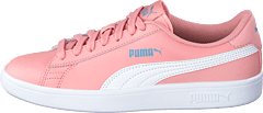Puma Smash V2 Sd Jr Bridal Rose- White-faded Denim