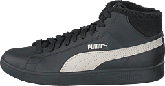 Puma Smash V2 Mid L Fur Jr Puma Black-whisper White