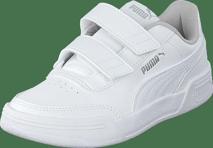 Caracal V Ps Puma White- White-puma Silver