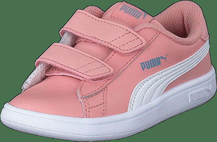 Puma Smash V2 Sd Inf Bridal Rose- White-faded Denim