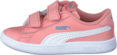 Puma Smash V2 Sd Inf Bridal Rose- White-faded Denim