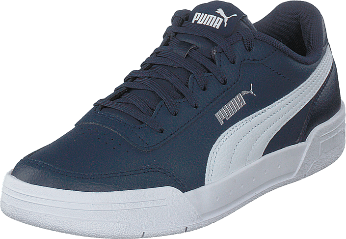 Puma - Caracal Jr Peacoat-puma White-puma Silver