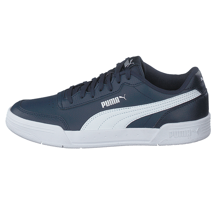 Caracal Jr Peacoat puma White puma Silver