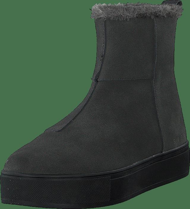 Svea - Suede Pile Boot Grey