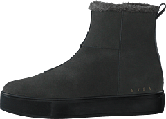 Suede Pile Boot Grey