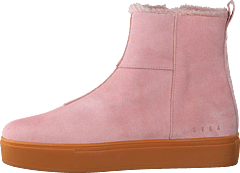 Suede Pile Boot Soft Pink