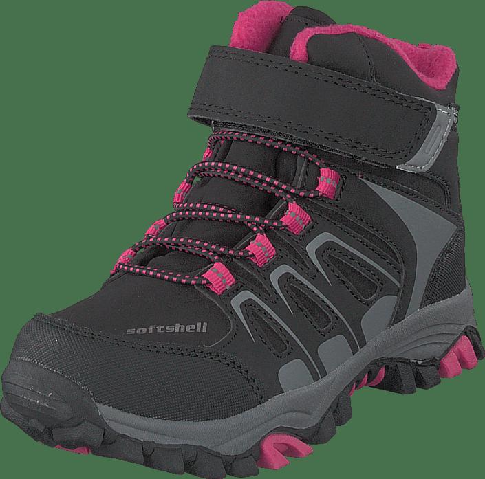 Gulliver - 435-0509 Waterproof Warm Lined Black/fuchsia