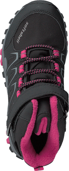 435-0509 Waterproof Warm Lined Black/fuchsia