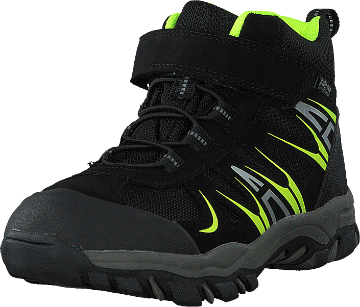 Gulliver - 430-2387 Waterproof Warm Lined Black/lime