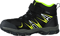 430-2387 Waterproof Warm Lined Black/lime