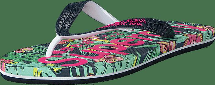 wholesale dealer 944d6 251e9 Aop Flip Flop Tina Tropical