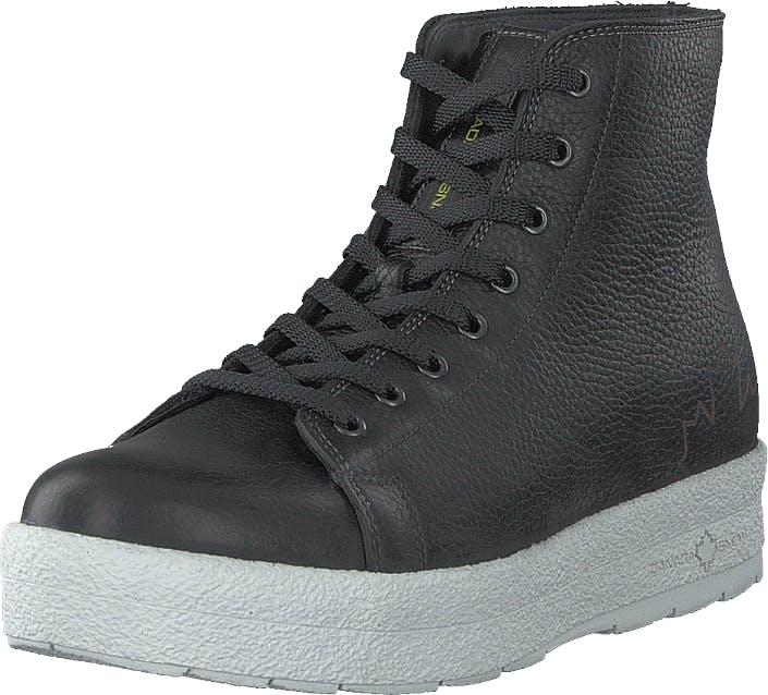 Canada Snow Mount Baker Lace Up Black, Skor, Sneakers & Sportskor, Höga sneakers, Svart, Dam, 41