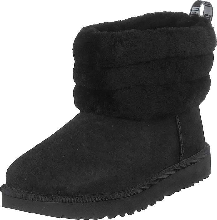UGG - Fluff Mini Quilted Black