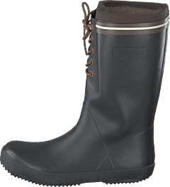 Rubber Boot Winter Thermo Black