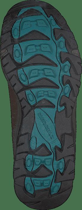 Vego Mid Leather Wtpf Dark Earth/britianny Blue