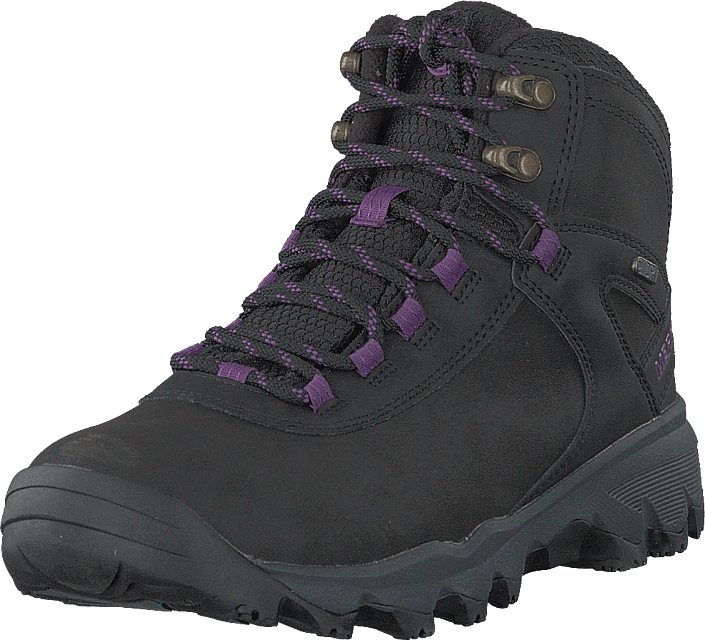 Merrell - Vego Mid Leather North Wp Ice+ Black/gloxinia