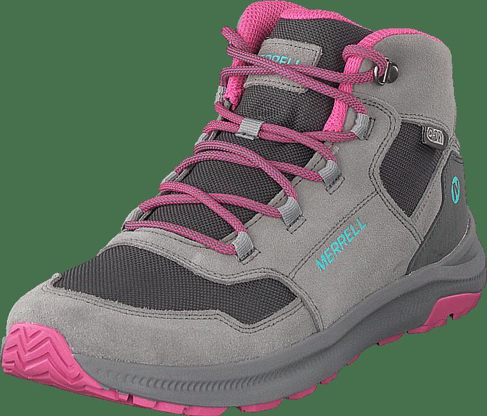 Merrell - Ontario Mid Waterproof Grey/pink