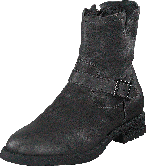 Hush Puppies - Buckle Boot Antracite