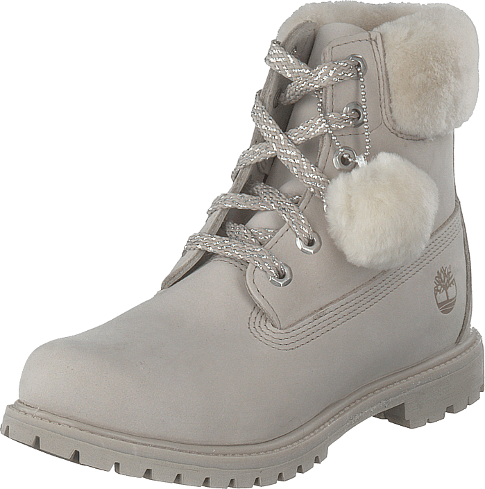 Timberland - 6 Inch Premium W/shearling Collar Pure Cashmere