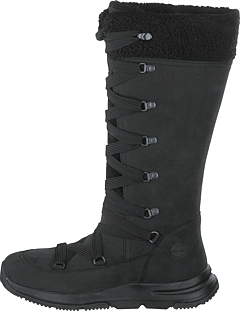 Mabel Town Wp Tall Mukluk Jet Black