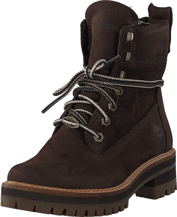 Timberland - Courmayeur Valley Yellow Boot Dark Walnut