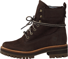 Courmayeur Valley Yellow Boot Dark Walnut