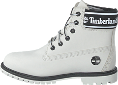6 Inch Premium WP Boot L/f- W White
