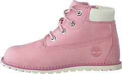 Pokey Pine 6in Boot With Side Pink Nectar
