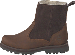 Courma Kid Warm Lined Boot Dark Brown