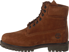 6 Inch Prem Rubber Cup Boot Cocoa Brown