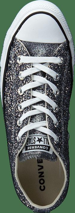 Chuck Taylor All Star Glitter Silver/black | Scarpe per ogni ...