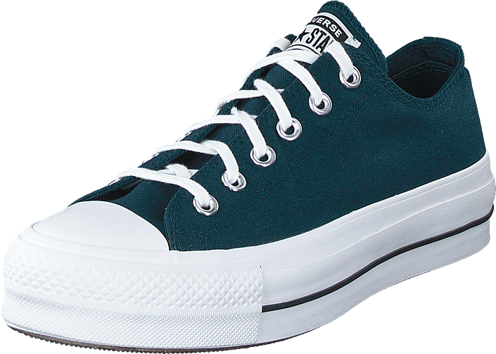 Converse - Chuck Taylor All Star Lift Ox Midnight Turqoise/white/black