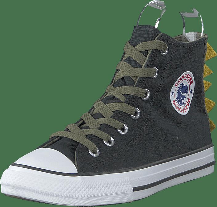 Converse - Chuck Taylor All Star Dino Spi Black