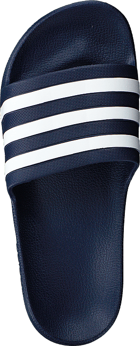 Adilette Aqua Dark Blue/ftwr White/dark Blue