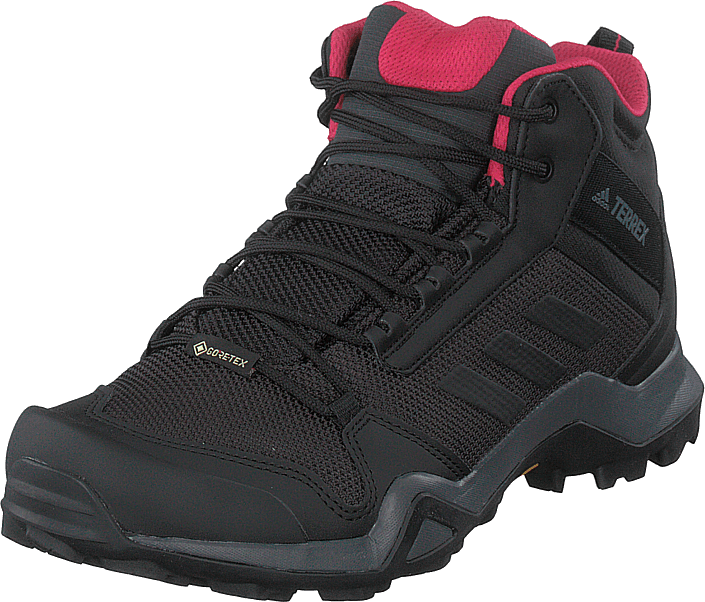 adidas Sport Performance - Terrex Ax3 Mid Gtx W Carbon/core Black/active Pink