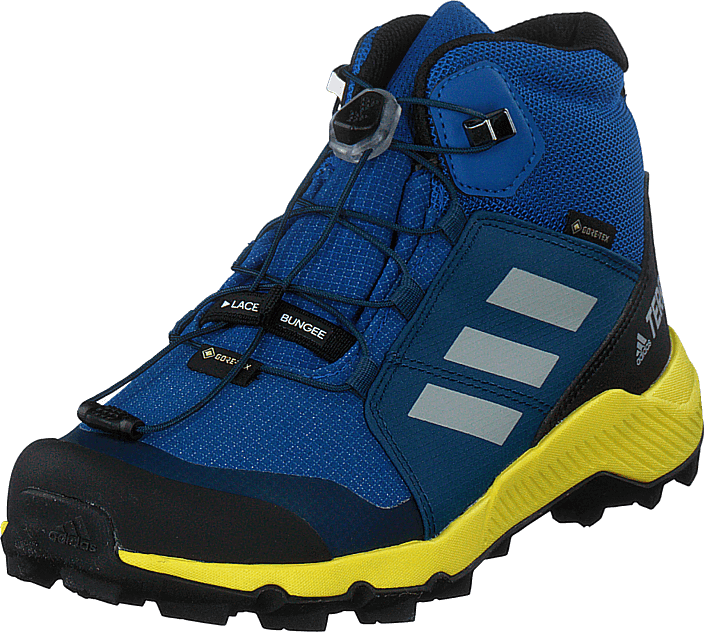 adidas Sport Performance - Terrex Mid Gtx K Blue Beauty/grey One F17/shock