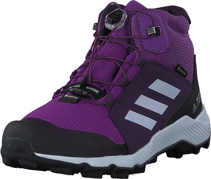 adidas Sport Performance - Terrex Mid Gtx K Active Purple/aero Blue S18/tr