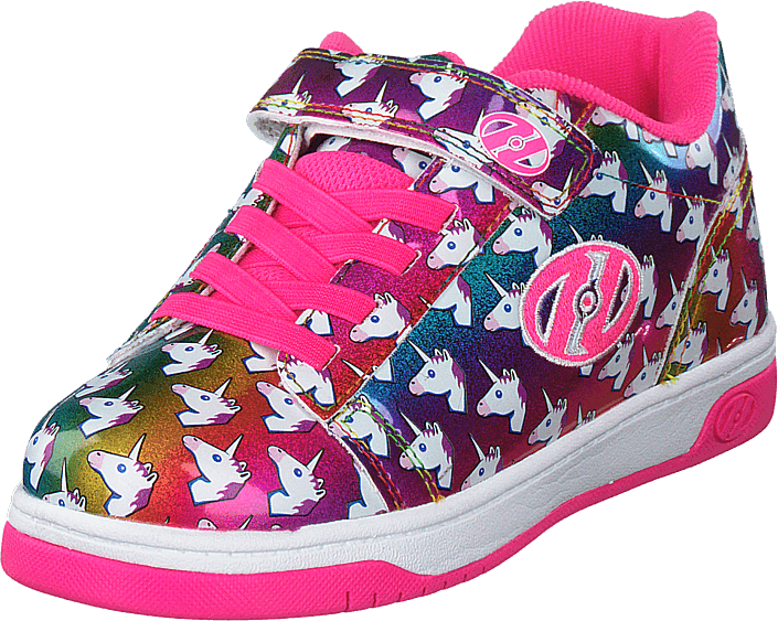 Heelys X2 Dual Up Rainbow/unicorn