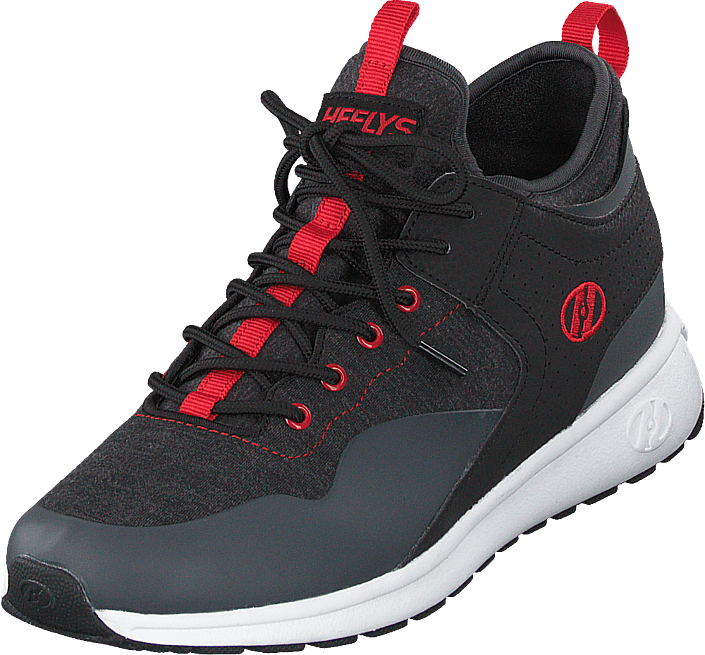 Heelys - Heelys Piper Black Heathered/red
