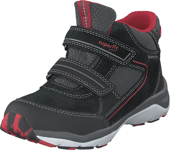 Superfit - Sport5 Black/red