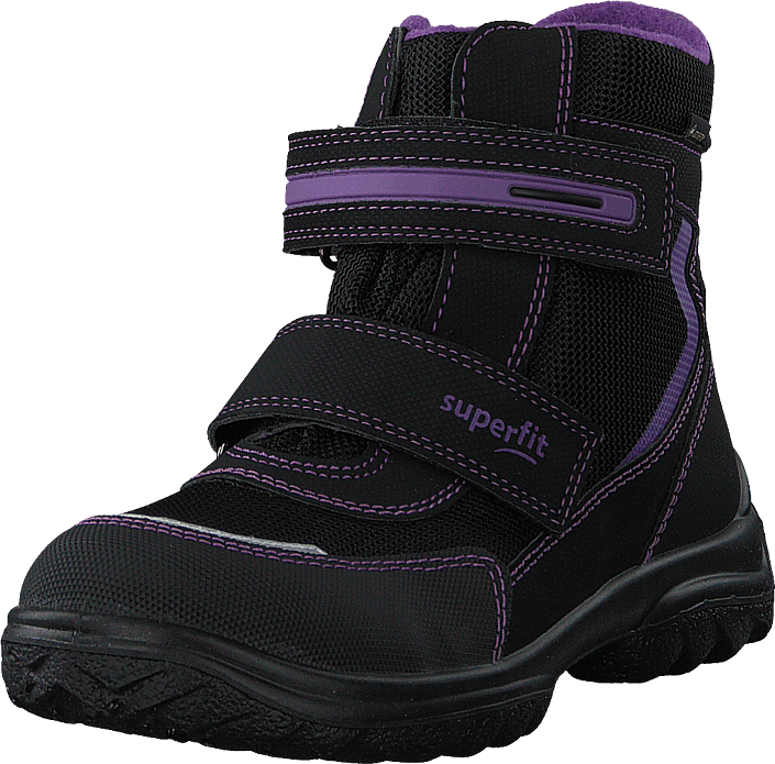 Superfit - Snowcat Black/lila