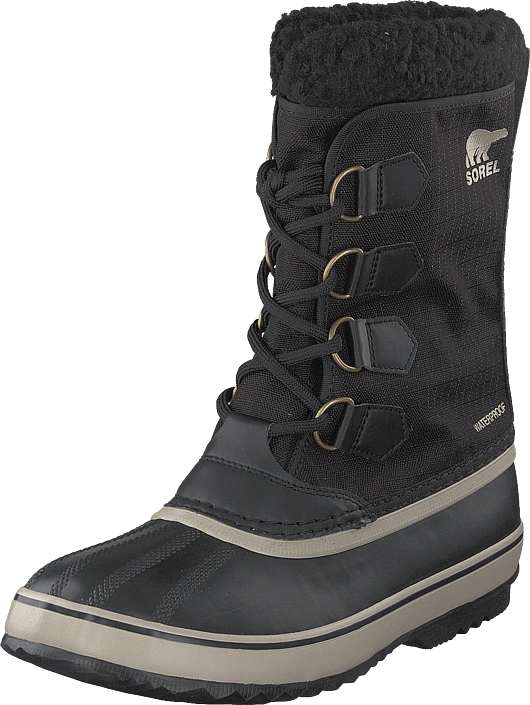 Sorel - 1964 Pac Nylon 011 Black, Ancient Fossil