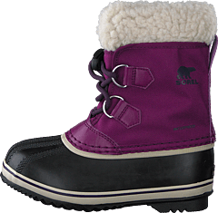 Children's Yoot Pac Nylon Wild Iris, Dark Plum