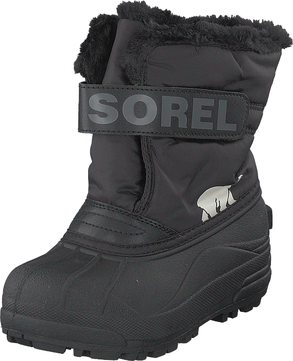 Sorel - Children's Snow Commander Black, Charcoal
