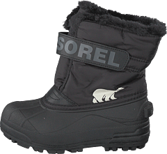 Children's Snow Commander Black, Charcoal