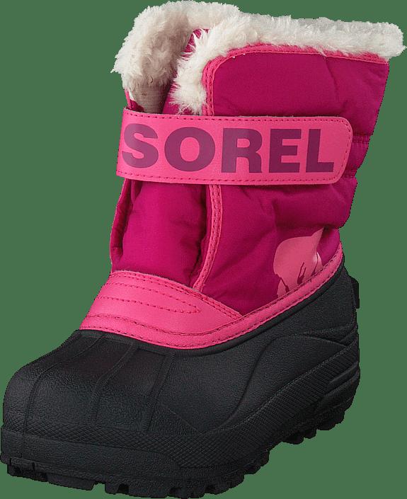 Sorel - Children's Snow Commander Tropic Pink Deep Blush