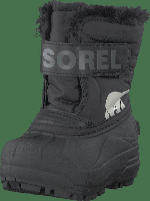 Sorel - Toddler's Snow Commander Black, Charcoal