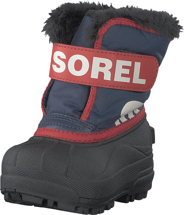 Sorel - Toddler's Snow Commander Nocturnal Sail Red